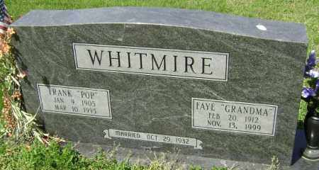 WHITMIRE, FAYE - Lawrence County, Arkansas | FAYE WHITMIRE - Arkansas Gravestone Photos