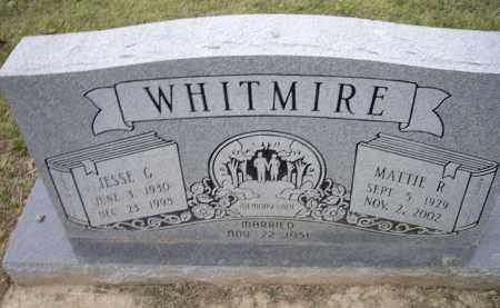 WHITMIRE, JESSE GENE - Lawrence County, Arkansas | JESSE GENE WHITMIRE - Arkansas Gravestone Photos