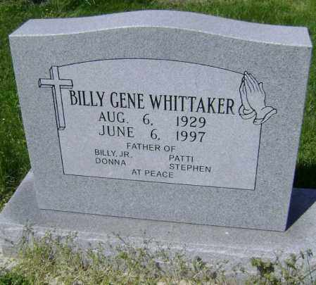 WHITTAKER, BILLY GENE - Lawrence County, Arkansas | BILLY GENE WHITTAKER - Arkansas Gravestone Photos
