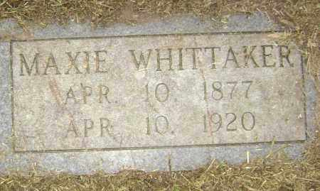 WHITTAKER, MAXIE - Lawrence County, Arkansas | MAXIE WHITTAKER - Arkansas Gravestone Photos