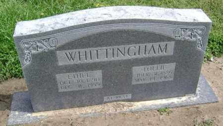 WHITTINGHAM, ETHEL LAUREN - Lawrence County, Arkansas | ETHEL LAUREN WHITTINGHAM - Arkansas Gravestone Photos
