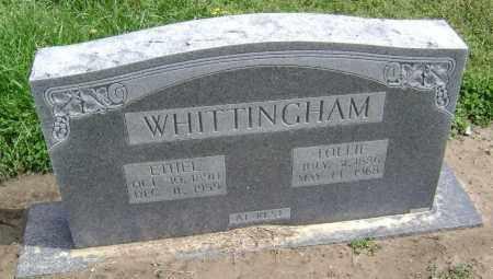 WHITTINGHAM, ETHEL LAUREN - Lawrence County, Arkansas | ETHEL LAUREN WHITTINGHAM - Arkansas Gravestone Photos