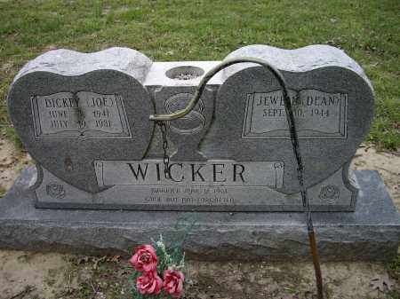 "WICKER, DICKEY ""JOE"" - Lawrence County, Arkansas 