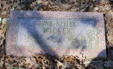 WICKER, JUNE ANN - Lawrence County, Arkansas | JUNE ANN WICKER - Arkansas Gravestone Photos