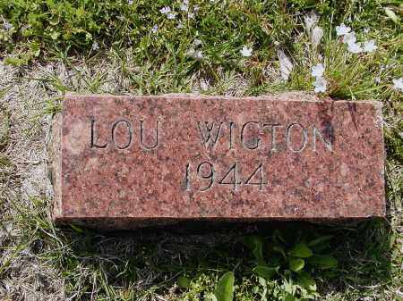 "WIGTON, LULA BELL ""LOU"" - Lawrence County, Arkansas 