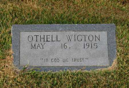 WIGTON, OTHELL MABELL - Lawrence County, Arkansas | OTHELL MABELL WIGTON - Arkansas Gravestone Photos