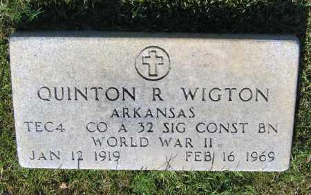 WIGTON (VETERAN WWII), QUINTON ROOSEVELT - Lawrence County, Arkansas | QUINTON ROOSEVELT WIGTON (VETERAN WWII) - Arkansas Gravestone Photos