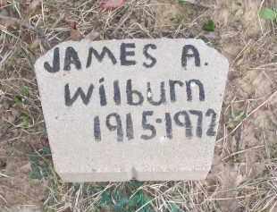 WILBURN, JAMES A. - Lawrence County, Arkansas | JAMES A. WILBURN - Arkansas Gravestone Photos
