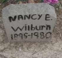 WILBURN, NANCY E. - Lawrence County, Arkansas | NANCY E. WILBURN - Arkansas Gravestone Photos