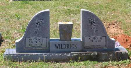 WILDRICK, WILLIAM TRAVIS - Lawrence County, Arkansas | WILLIAM TRAVIS WILDRICK - Arkansas Gravestone Photos