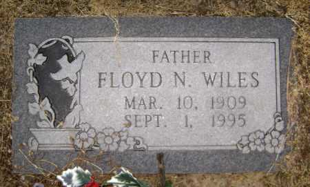 WILES, FLOYD N - Lawrence County, Arkansas | FLOYD N WILES - Arkansas Gravestone Photos