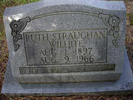 STRAUGHAN WILHITE, RUTH - Lawrence County, Arkansas | RUTH STRAUGHAN WILHITE - Arkansas Gravestone Photos