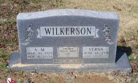 WILKERSON, ARTHUR M. - Lawrence County, Arkansas | ARTHUR M. WILKERSON - Arkansas Gravestone Photos