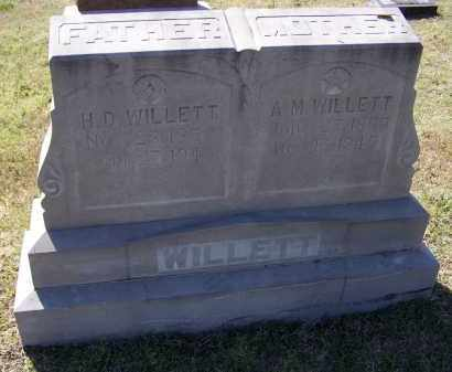 "WILLETT, AMANDA MELISSA ""A. M."" - Lawrence County, Arkansas 