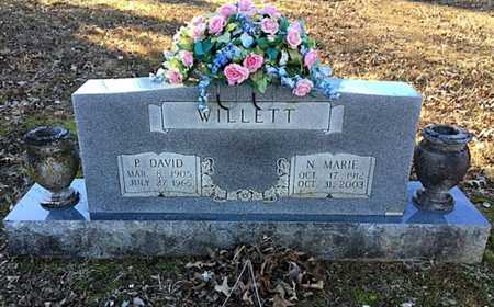 WILLETT, NELLIE MARIE - Lawrence County, Arkansas | NELLIE MARIE WILLETT - Arkansas Gravestone Photos