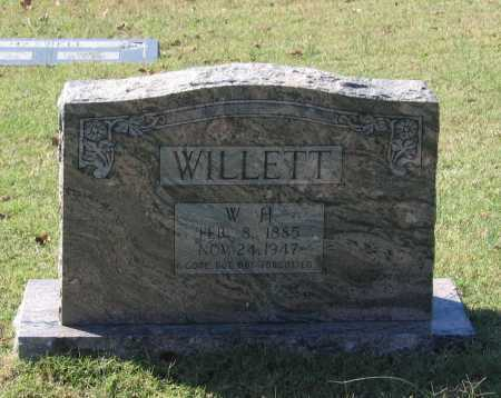 "WILLETT, WILLIAM HENRY ""W. H."" - Lawrence County, Arkansas 