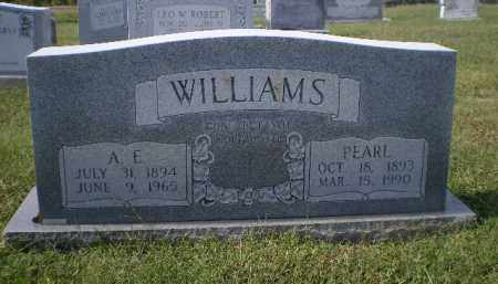 "WILLIAMS, ARTHUR E. ""A. E."" - Lawrence County, Arkansas 