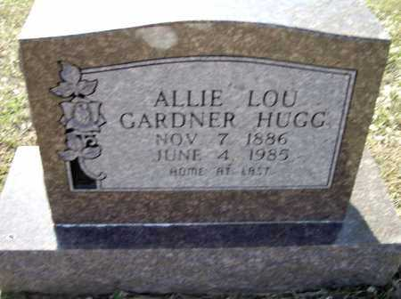 HUGG, ALLIE LOU GARDNER WILLIAMS - Lawrence County, Arkansas | ALLIE LOU GARDNER WILLIAMS HUGG - Arkansas Gravestone Photos
