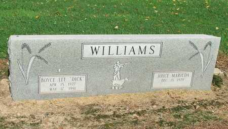 "WILLIAMS, BOYCE LEE ""DICK"" - Lawrence County, Arkansas 