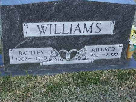 "WILLIAMS, BATTLEY ""BUM"" - Lawrence County, Arkansas 