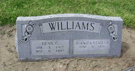 WILLIAMS, DEAN C. - Lawrence County, Arkansas | DEAN C. WILLIAMS - Arkansas Gravestone Photos