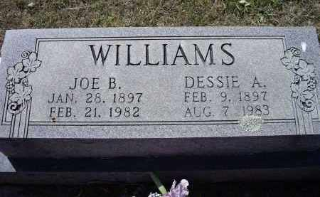 "WILLIAMS, ODESSA AZALEE ""DESSIE"" - Lawrence County, Arkansas 