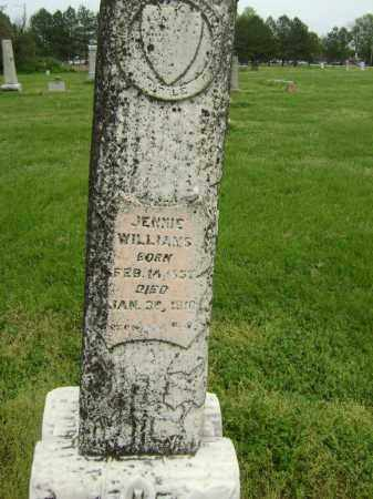 WILLIAMS, JENNIE - Lawrence County, Arkansas | JENNIE WILLIAMS - Arkansas Gravestone Photos