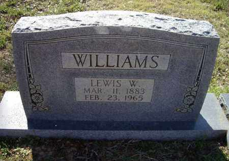 WILLIAMS, LEWIS WASHINGTON - Lawrence County, Arkansas | LEWIS WASHINGTON WILLIAMS - Arkansas Gravestone Photos
