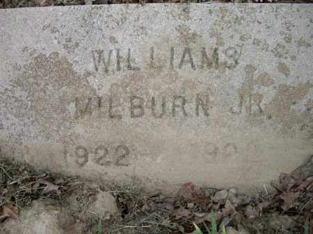 WILLIAMS, JR., MILBURN - Lawrence County, Arkansas | MILBURN WILLIAMS, JR. - Arkansas Gravestone Photos