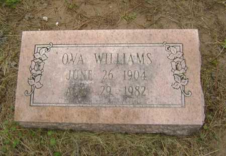 WILLIAMS, OVA - Lawrence County, Arkansas | OVA WILLIAMS - Arkansas Gravestone Photos