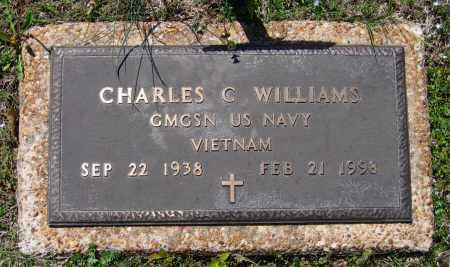 WILLIAMS (VETERAN VIET), CHARLES C - Lawrence County, Arkansas | CHARLES C WILLIAMS (VETERAN VIET) - Arkansas Gravestone Photos