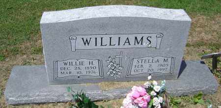 WILLIAMS, WILLIE H. - Lawrence County, Arkansas | WILLIE H. WILLIAMS - Arkansas Gravestone Photos