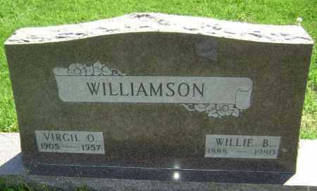 WILLIAMSON, WILLIE B. - Lawrence County, Arkansas | WILLIE B. WILLIAMSON - Arkansas Gravestone Photos