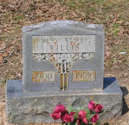 WILLIS, SILAS WESLEY - Lawrence County, Arkansas | SILAS WESLEY WILLIS - Arkansas Gravestone Photos
