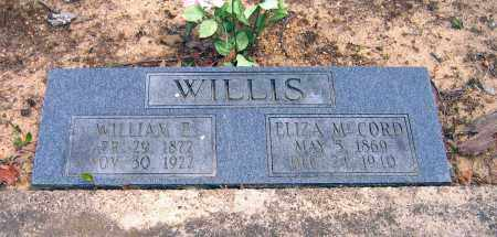 WILLIS, WILLIAM ELIJAH - Lawrence County, Arkansas | WILLIAM ELIJAH WILLIS - Arkansas Gravestone Photos