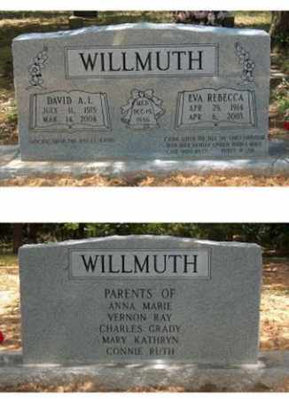 WILLMUTH, DAVID A. I. - Lawrence County, Arkansas | DAVID A. I. WILLMUTH - Arkansas Gravestone Photos