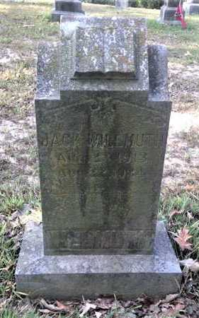 WILLMUTH, JACK - Lawrence County, Arkansas | JACK WILLMUTH - Arkansas Gravestone Photos