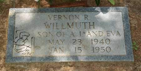 WILLMUTH, VERNON - Lawrence County, Arkansas   VERNON WILLMUTH - Arkansas Gravestone Photos