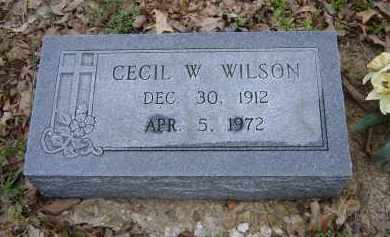 WILSON, CECIL W. - Lawrence County, Arkansas | CECIL W. WILSON - Arkansas Gravestone Photos