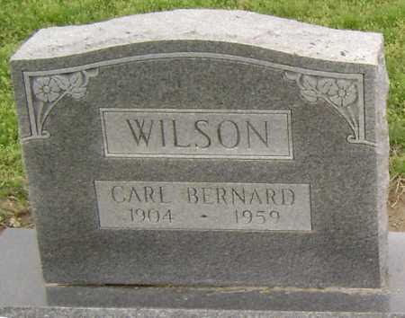 WILSON, CARL BERNARD - Lawrence County, Arkansas | CARL BERNARD WILSON - Arkansas Gravestone Photos