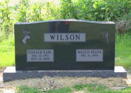 WILSON, DONALD EARL - Lawrence County, Arkansas | DONALD EARL WILSON - Arkansas Gravestone Photos
