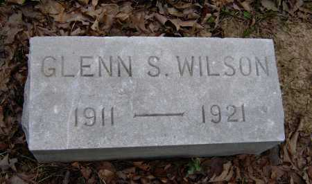 WILSON, GLENN S. - Lawrence County, Arkansas | GLENN S. WILSON - Arkansas Gravestone Photos