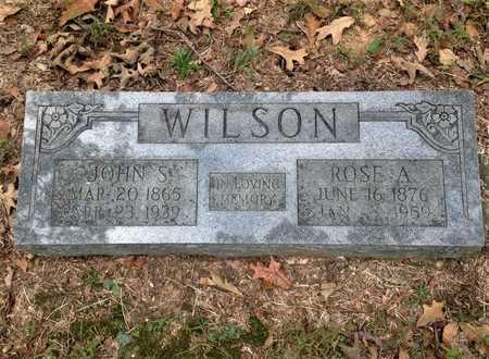 WILSON, JOHN S. - Lawrence County, Arkansas | JOHN S. WILSON - Arkansas Gravestone Photos