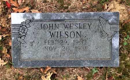 WILSON, JOHN WESLEY - Lawrence County, Arkansas | JOHN WESLEY WILSON - Arkansas Gravestone Photos