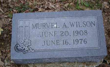 WILSON, MURVEL A. - Lawrence County, Arkansas   MURVEL A. WILSON - Arkansas Gravestone Photos
