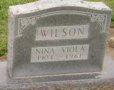 WILSON, NINA VIOLA - Lawrence County, Arkansas   NINA VIOLA WILSON - Arkansas Gravestone Photos