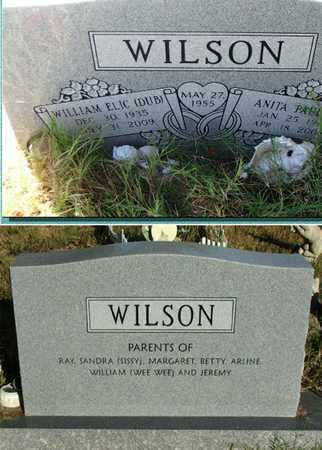 DARRIS WILSON, ANITA PAULINE - Lawrence County, Arkansas | ANITA PAULINE DARRIS WILSON - Arkansas Gravestone Photos