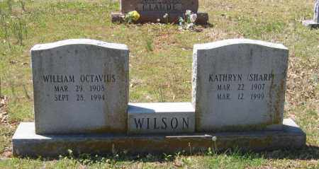 WILSON, WILLIAM OCTAVIUS - Lawrence County, Arkansas | WILLIAM OCTAVIUS WILSON - Arkansas Gravestone Photos
