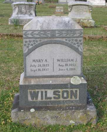 WILSON, WILLIAM J. - Lawrence County, Arkansas | WILLIAM J. WILSON - Arkansas Gravestone Photos