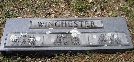 WINCHESTER, IDA MAY - Lawrence County, Arkansas | IDA MAY WINCHESTER - Arkansas Gravestone Photos